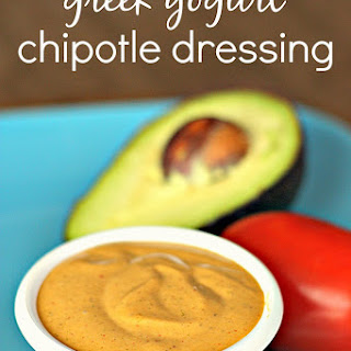 Greek Yogurt Chipotle Dressing