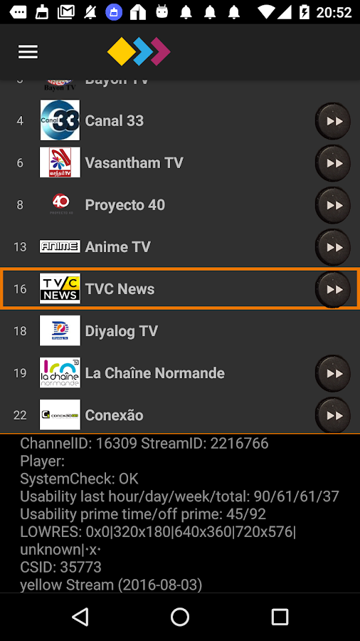 UlangoTV IPTV Explorer 2.0- screenshot