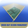 Map Dried Out Ocean Monument