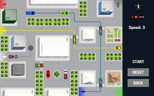 Traffic Control Puzzle - City Driving apkpoly screenshots 6