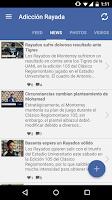 Screenshot of Adiccionrayada Monterrey Fans