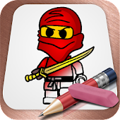 Drawing Lessons Lego Ninjago