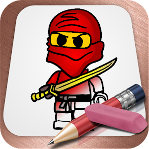drawing lessons lego ninjago