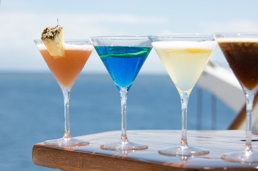 wind-surf-cocktails-3.jpg - Enjoy a cocktail on deck on your next cruise.