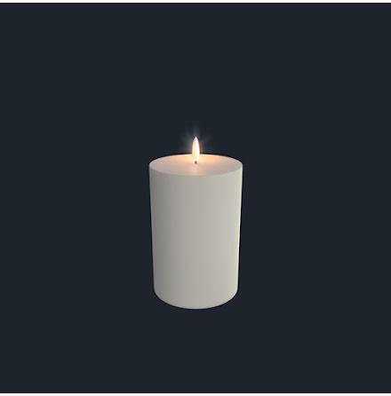 UYUNI Pelarljus LED - IVORY - 10,1 x 18 CM