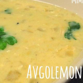 Avgolemono (Greek Egg Lemon) Soup
