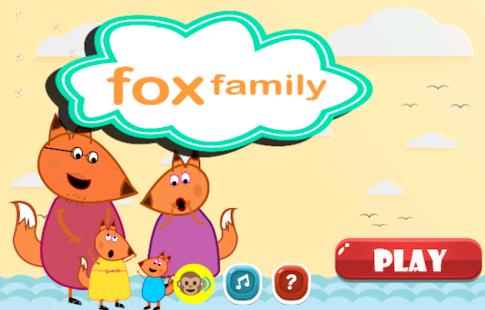 Fox Family Finger Family - náhled