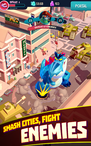 I Am Monster: Idle Destruction Screenshot Image