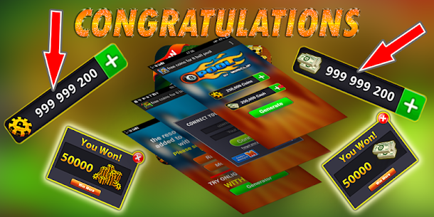 fast ball Pool Rewards – Daily Free Coins & cash 3