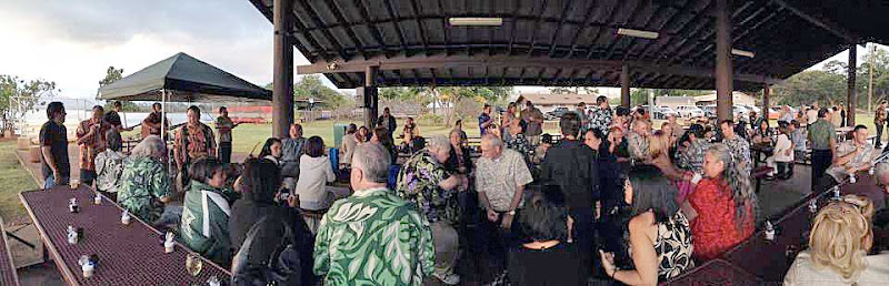 Photo: SailorBlue's Retirement Reception and Dinner party. February 22, 2013. Photos by LizKauai.