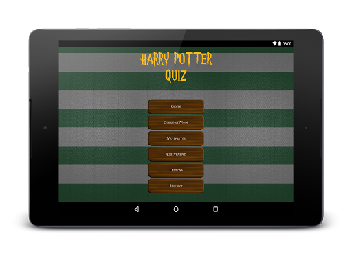 Fanquiz for Harry Potter Screenshot