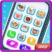 Game Phone for Kids. Sounds, numbers, animals. APK for Windows Phone