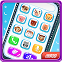 Phone for Kids. Sounds, numbers, animals. icon