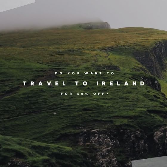 Travel to Ireland - St. Patrick's Day Template
