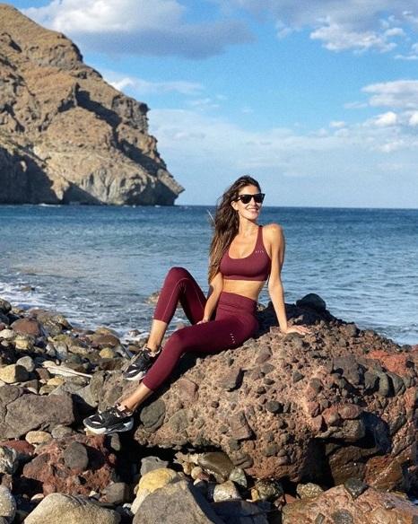 Lidia Torrent Anca en Las Negras, foto de su perfil de Instagram.