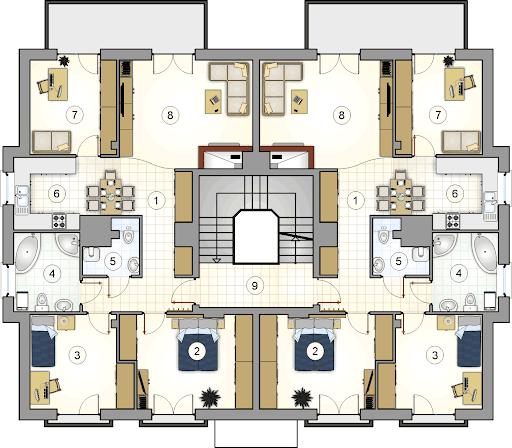 Octavus II - Rzut piętra