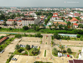 Photo: View of Vientiane Skyline