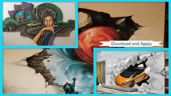 Unique 3D Mural Arts - náhled