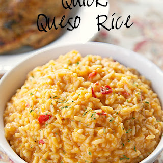 Quick Queso Rice