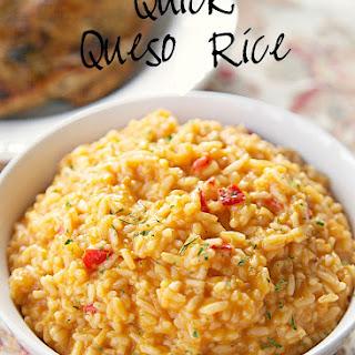 Rice Chicken Queso Recipes.