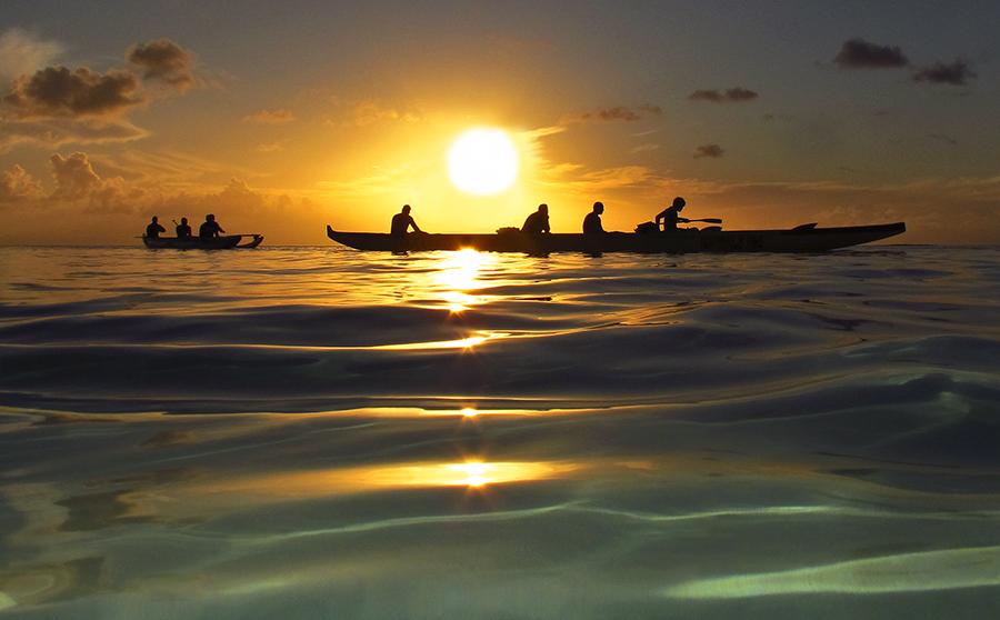 Transcendental Meditation by Brandon Mardon - Transportation Boats