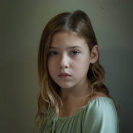 7  by Cyndi Jones - Babies & Children Child Portraits ( seven, blonde, girl, portrait, child )