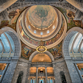 Utah State Capitol Intorior by John Williams - Buildings & Architecture Public & Historical ( utah, state capitol, public building, detail, interior, architecture )