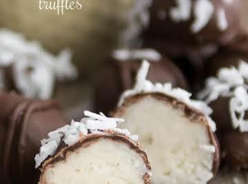 Coconut Cream Truffles - Crazy for Crust
