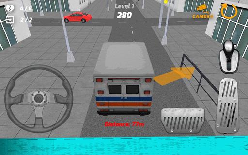 救护车模拟器游戏