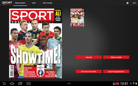 Sport/Voetbalmagazine HD screenshot 0