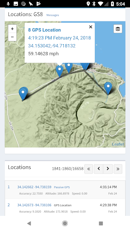 SMS Tracker (TM) Screenshot