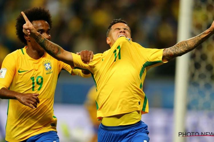 Coutinho loodst Brazilië in tweede helft voorbij mak Bolivia op Copa America