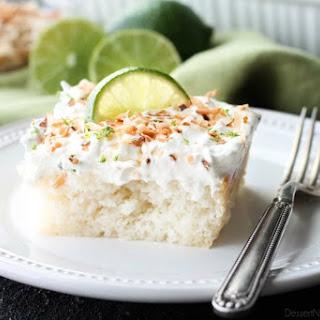 Coconut Lime Poke Cake Recipe