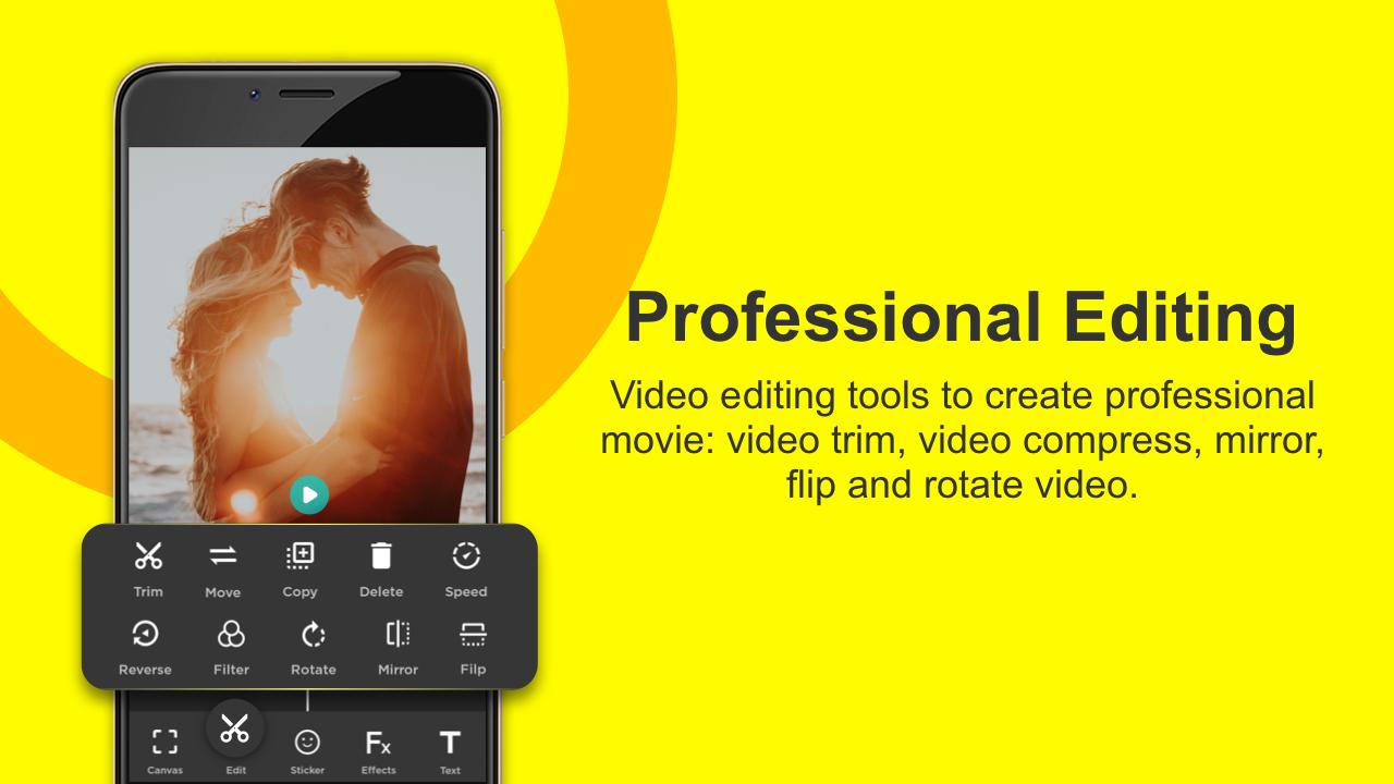 Video Editor for Youtube, Music - My Movie Maker | جوال بلاي