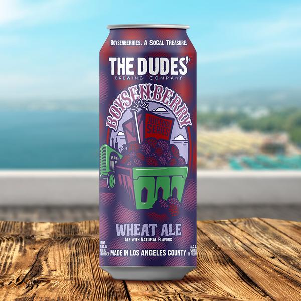 Logo of The Dudes' Juicebox Series: Boysenberry Wheat