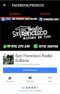 RADIO SANFRANCISCO SULLANA- screenshot thumbnail