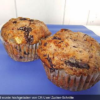 Birnen - Nougat Muffins.