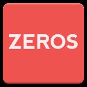 ZEROS - Mathematical puzzle
