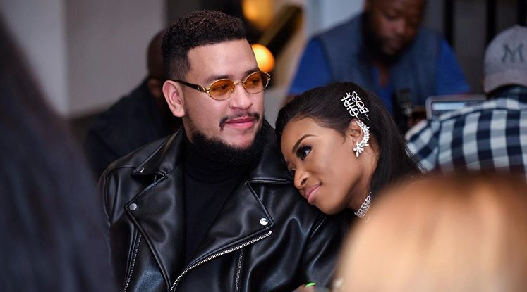 AKA slams troll trying to make DJ Zinhle's win about him: Leave it alone man