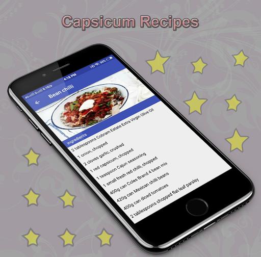 Capsicum Recipes 1.0 screenshots 1