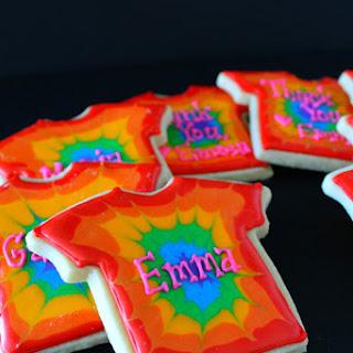 Tie-Dye Sugar Cookie Party Favors.