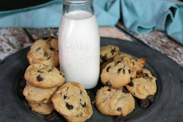 Chocolate Almond Cookies Recipe