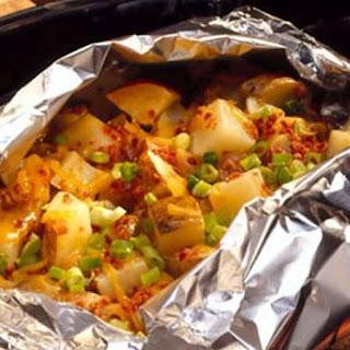 Smoky Cheddar Potato Foil Pack