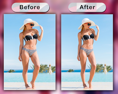 GoSexy - Make Me Thin Photo Editor - náhled