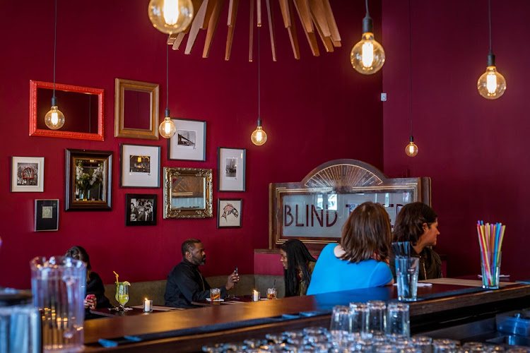 The decor at Blind Tiger Cafe in Parkview is inspired by the 1920s.