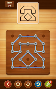Linienrätsel: String Art Screenshot