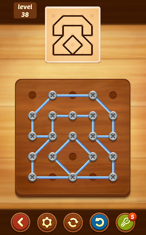 Line Puzzle: String Art poster 4