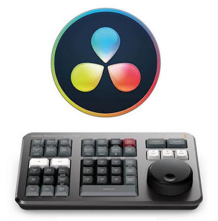 DaVinci Resolve Studio and DaVinci Resolve Speed Editor