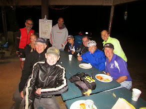 Photo: Knoxville 2014 Finish Dinner at Pena Adobe Park