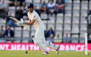 Alastair Cook of England runs during the second day of the fourth Specsavers Test Match between England and India at The Ageas Bowl on August 31, 2018 in Southampton, England.